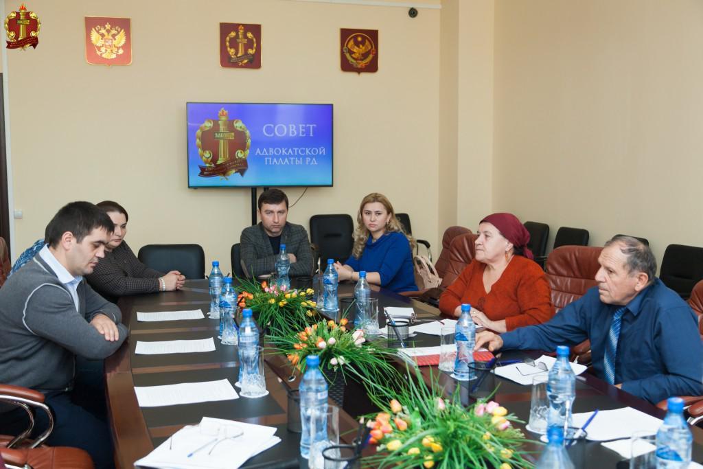 Заседание Совета Адвокатской палаты Республики Дагестан